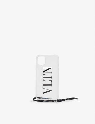 Valentino Logo-print iPhone 11 phone case