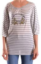Galliano Women's Grey Viscose Top.