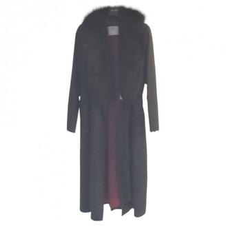 Aquascutum London Black Coat for Women Vintage