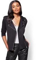 New York & Co. Knit Moto Jacket