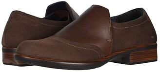 Naot Footwear Angin (Black Velvet Nubuck/Metallic Leather/Black Suede/Black Leather) Women's Shoes