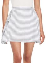 BCBGeneration Striped A-Line Skirt