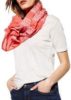 Liebeskind Pleated Crochet Scarf