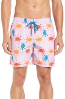 Vilebrequin Men's Japan Turtles Print Swim Trunks