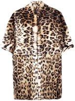 Plein Sud Jeans animal print coat