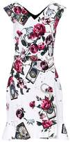 Roberto Cavalli Floral-printed sleeveless dress