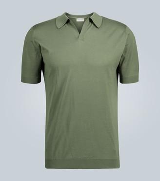 John Smedley Noah skipper-collar polo shirt