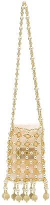 VANINA Beaded Chain Shoulder Bag