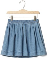 Gap 1969 Chambray Flippy Skirt