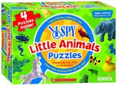 Briarpatch I Spy Four in One Little Animals Puzzle (6-12 pc)