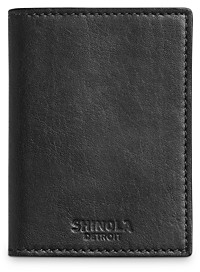 Shinola Fulton Bi-Fold Card Wallet
