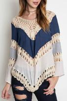 Umgee USA Crochet Top