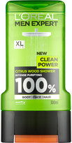 L'oréal Paris Men Expert L'Oreal Paris Men Expert Clean Power Shower Gel 300ml