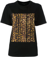 Alexander Wang bonded barcode T-shirt - women - Cotton - XS