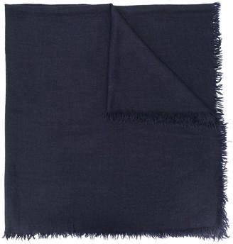 Rick Owens Fringed Knit Scarf