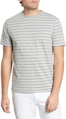 Robert Barakett Milford Stripe Crewneck T-Shirt