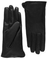 Chickle Men's Warm Lined Super Driving Lambskin Leather Gloves