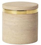 Broste Copenhagen - 10 x 10.5 cm Stone Jar W Lid - 10X10.5