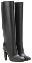 Valentino Garavani Soul Rockstud embellished leather boots