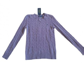 Polo Ralph Lauren Purple Wool Knitwear for Women