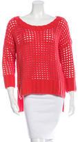 Robert Rodriguez Wool Open Knit Sweater