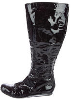 Lanvin Patent Knee-High Boots