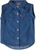 Levi's Denim Shirt, Baby Girls (0-24 months)