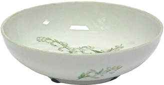 One Kings Lane Vintage Limoges Lily-of-the-Vally Bowl - Vermilion Designs