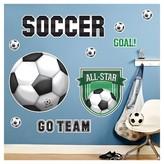 BuySeasons Soccer Giant Wall Decal