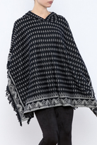 Sisters Diamond Hooded Poncho