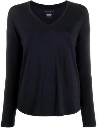 Majestic Filatures jersey knit long-sleeve top