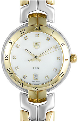 Tag Heuer Women's Link Automatic Diamond Watch