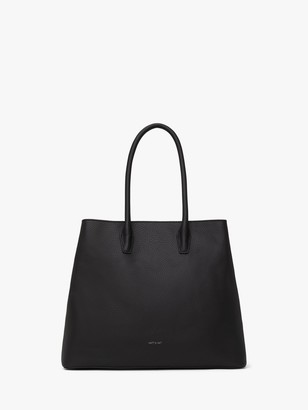 Matt & Nat Recycled Purity Collection Krista Vegan Tote Bag, Black