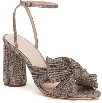 Rebecca Taylor Loeffler Randall Camellia Knot Mule With Ankle Strap