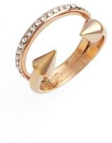 Vita Fede Women's Ultra Mini Titan Crystal Band Ring