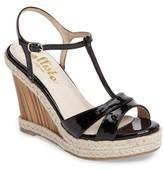 Callisto Women's Alinna T-Strap Wedge Sandal