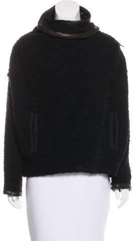 Isabel Marant Leather-Trimmed Jacket