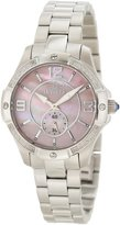 Invicta Women's 10219 Angel Diamond Accented Pink Mother-Of-Pearl Dial Stainless Steel Watch