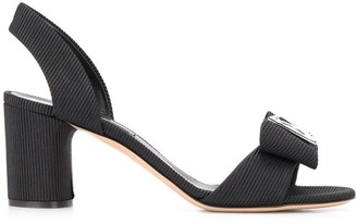 Casadei Cannete diamante 75mm sandals