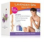 Sally Hansen Lavender Spa Wax Hair Removal Kit for Body Legs Arms and Bikini