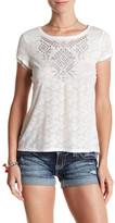 Miss Me Floral Lace Shirt