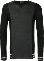 Paolo Pecora contrasting front jumper