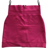 Herve Leger Pink Skirt for Women