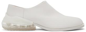 Maison Margiela White Airbag Tabi Loafers