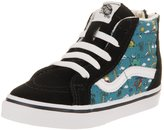 Vans Toddlers Sk8-Hi Zip (Dino Party Train) Skate Shoe 9 Infants US