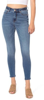 Lola Jeans High-Rise Skinny Ankle Jeans - Alexa