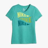 Nike Varsity Art Big Kids' (Girls') T-Shirt (XS-XL)