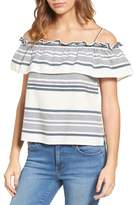 Splendid Traveler Off-the-Shoulder Shirt