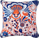 One Duck Two Carnival Outdoor Cushion, Coral