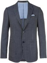 Z Zegna patterned blazer - men - Cotton/Linen/Flax/Cupro/Wool - 48